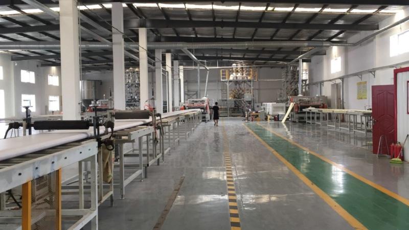 天津科美斯顺利投产3条二氧化碳发泡XPS生产线