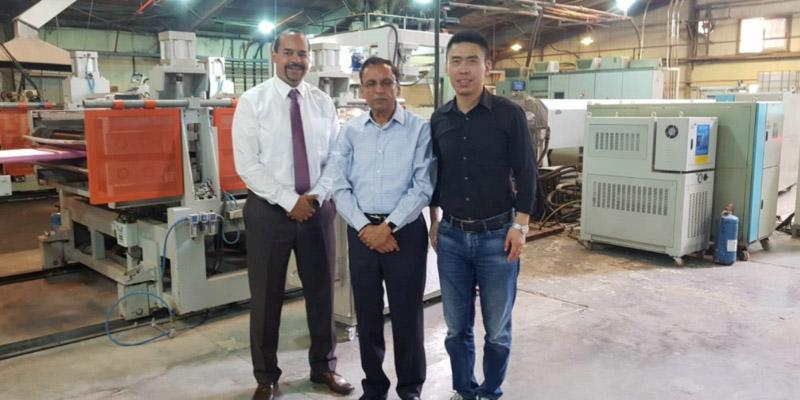 联合国工业发展组织资助的XPS项目验收成功