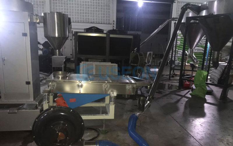 300~450kg/h PET瓶片回收造粒 泰国