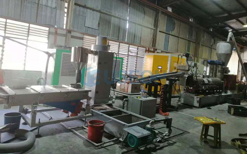 1t/h PET回收造粒生产线 马来西亚