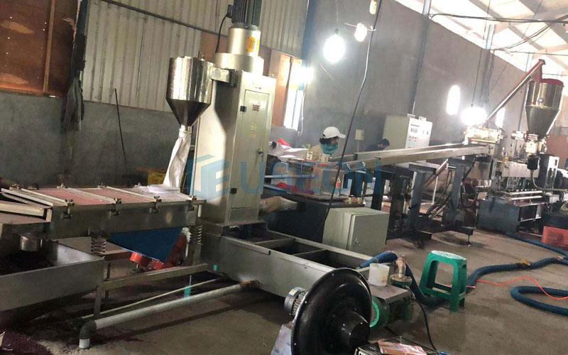 350~450kg/h PET泡泡料回收 印度尼西亚