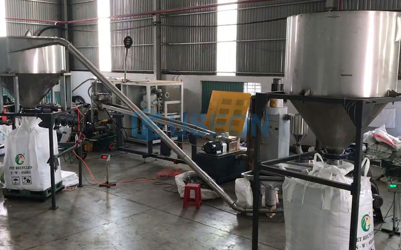 1000~1200kg/h PET泡泡料回收 越南客户