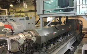 600-1000kg/h XPS挤塑板生产线 科威特