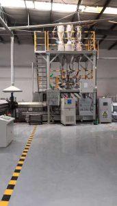 600-1000kg/h XPS挤塑板生产线 天津