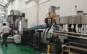 800kg/h PET瓶片回收造粒 泰国