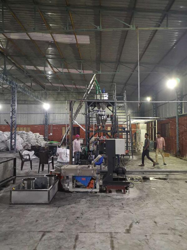 200kg/h PET色母粒造粒生产线 印度