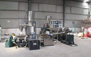 400kg/h TPR造粒生产线 越南