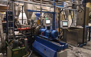500kg/h TPE基础造粒线 土耳其