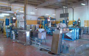 300kg/h PP定制母料造粒生产线 土耳其