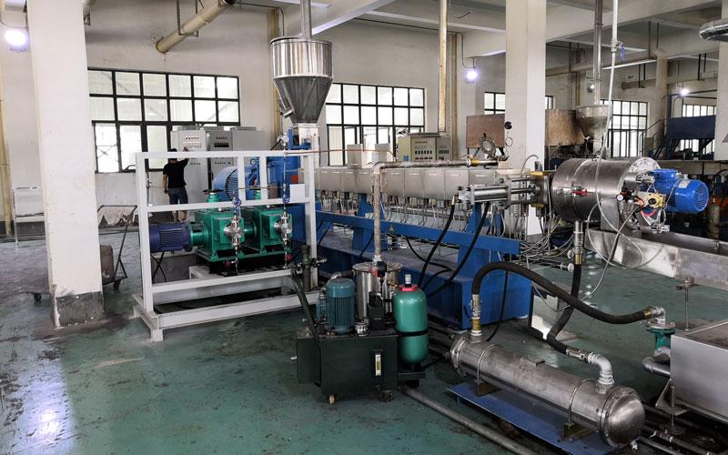 350kg/h TPV水环切造粒线 中国