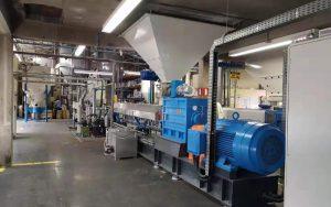 1500kg/h TPE/TPR造粒生产线 巴西