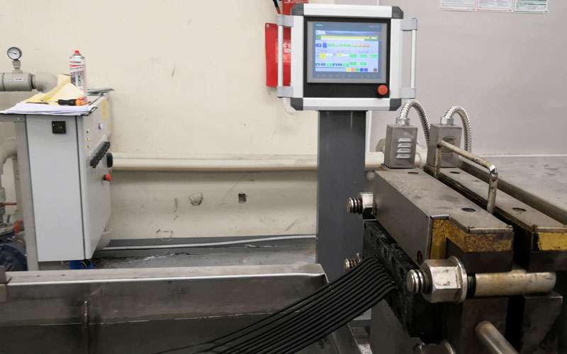 600kg/h XLPE造粒生产线 波兰