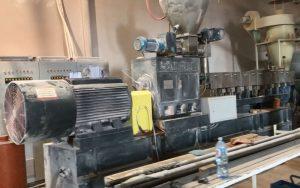 900kg/h 硬质PVC制粒生产线 塞尔维亚