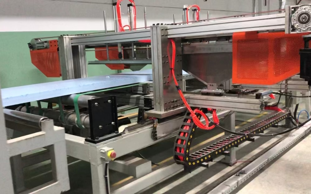 土耳其XPS生产线项目(型号:TDS110-250)
