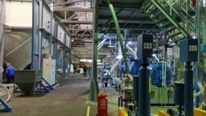 5t/h大型双螺杆HDPE造粒产线 俄罗斯