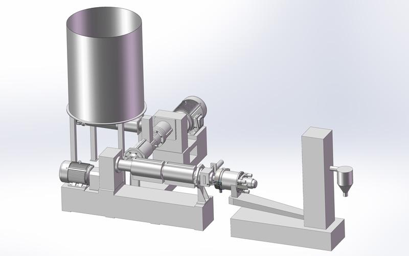 PET废布、丝、膜一步法造粒系统